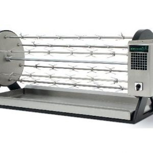Wood rotisserie Grill